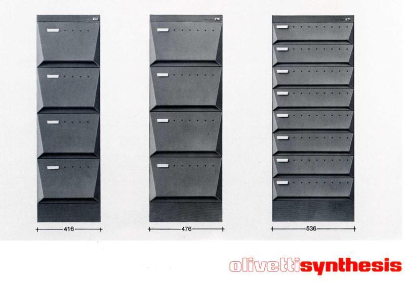 Olivetti synthesis quando dietro ad un prodotto c 39 erano - Cassettiera schedario da ufficio ...